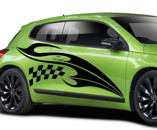 Cool Sreifen Autoaufkleber