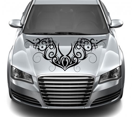 Motorhaube Ornamente