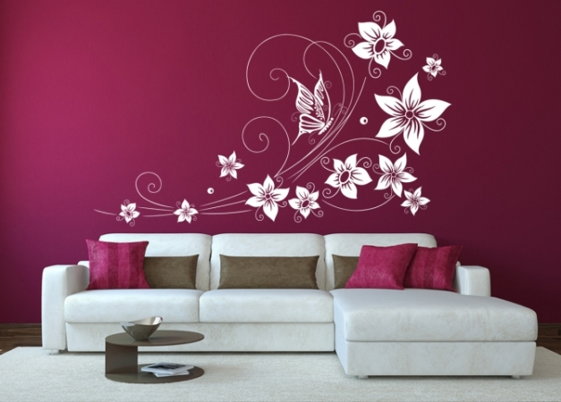 Schmetterling Blumen