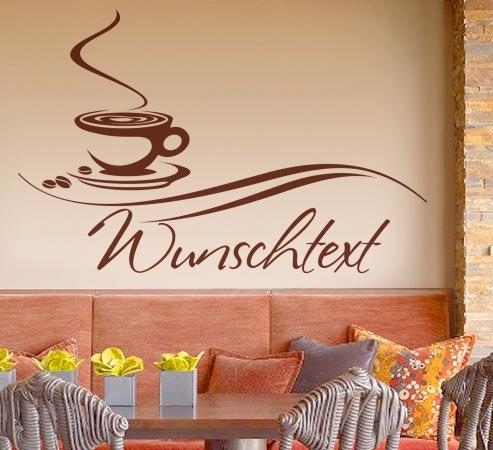 Coffee Wandtattoo