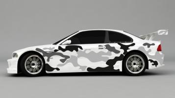 Camouflage Autoaufkleber
