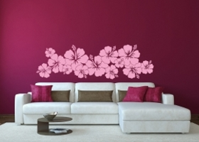 Hibiskus Blumen