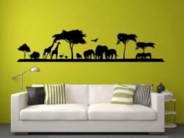 Savanne Afrika Wandaufkleber