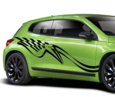 Autoaufkleber Sport 11