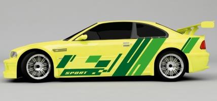 Sport Design Autoaufkleber