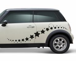 Sternspur Autoaufkleber