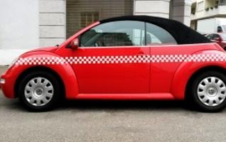 Taxi Autoaufkleber