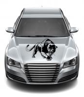Angreifender Panther